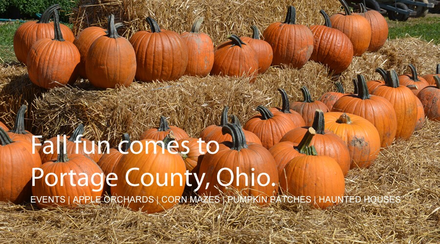 Fall is a Great Time to Visit Portage County, Ohio.