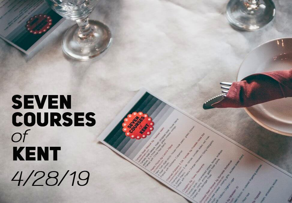 "Main Street Kent's ""Seven Courses of Kent"" Dinner Party Set for April 28"