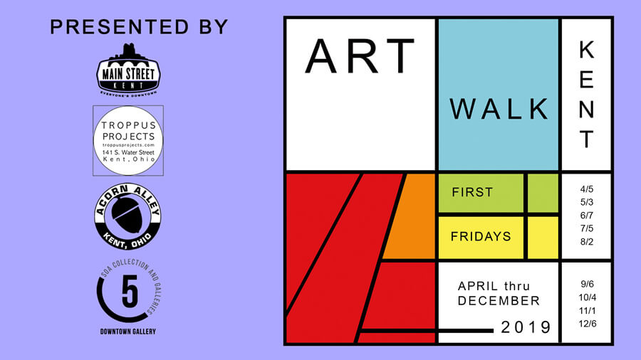Main Street Kent Continues the Celebration of Art with First Friday Art Walks