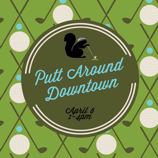 Main Street Kent to Welcome Spring with Putt Around Downtown Event