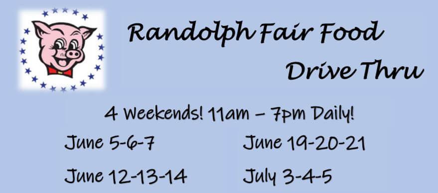 Randolph Fair Food Drive Thru