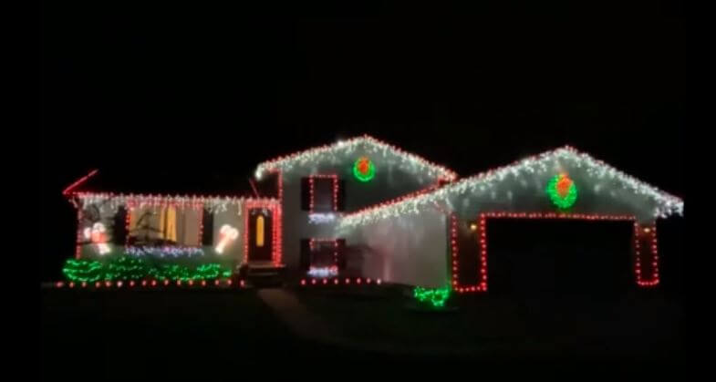 The holiday lights are shining bright in Portage County.