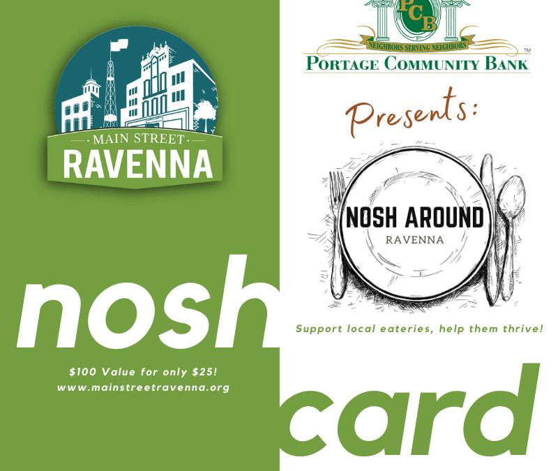 Nosh Around Ravenna!