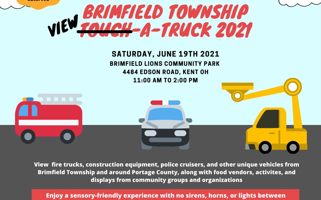 Brimfield Township View-A-Truck 2021